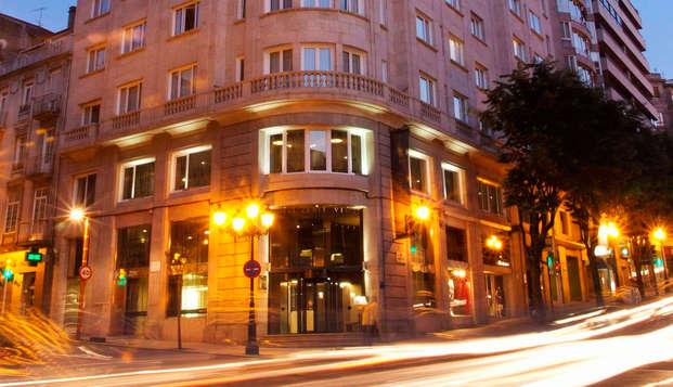 Week-end avec petit-déjeuner inclus à Vigo