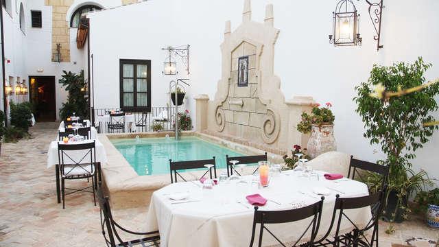 Uitje met gastronomisch diner en een romantisch tintje in Osuna (Sevilla)