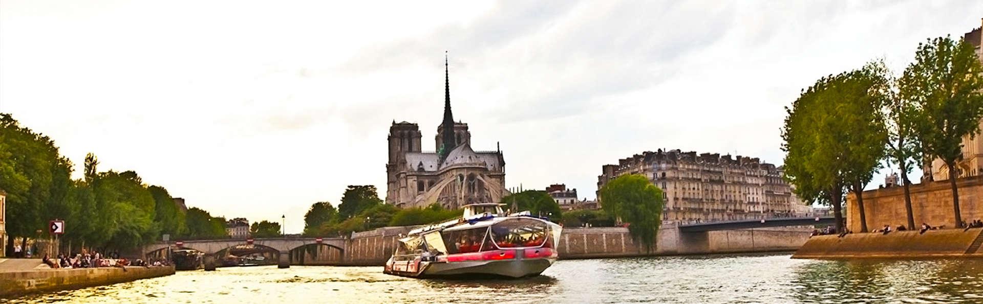 Week-end à Paris et croisière sur la Seine