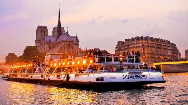 Descubre la capital francesa recorriendo el Sena y alójate en un 4* cerca de París