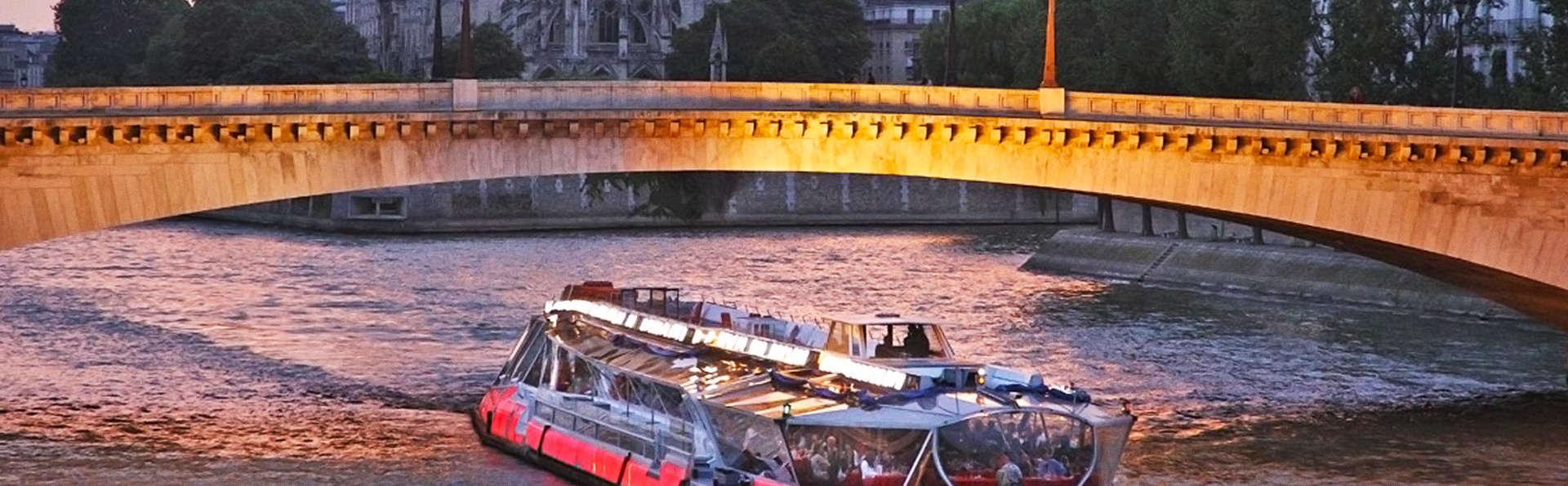 Luxe et romantisme à Paris avec croisière sur la Seine