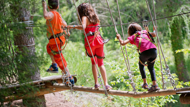 El paraíso de los niños: Media pensión, parque de Aventuras, huerto y granja en Sant Hilari Sacalm