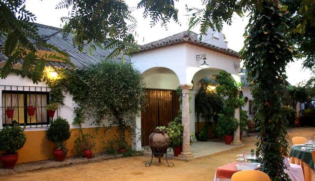 Escapade avec dîner dans la Sierra Norte de Séville.