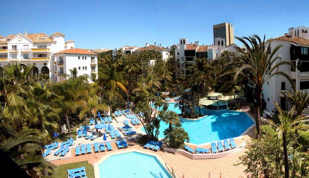 Minivacaciones en Marbella a 150 metros de la playa (Desde 3 noches)