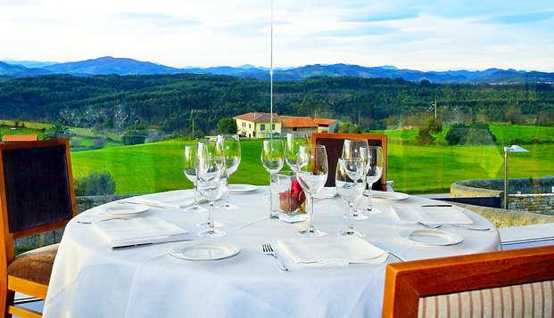 Escapada 5* con cena degustación en un histórico palacio asturiano