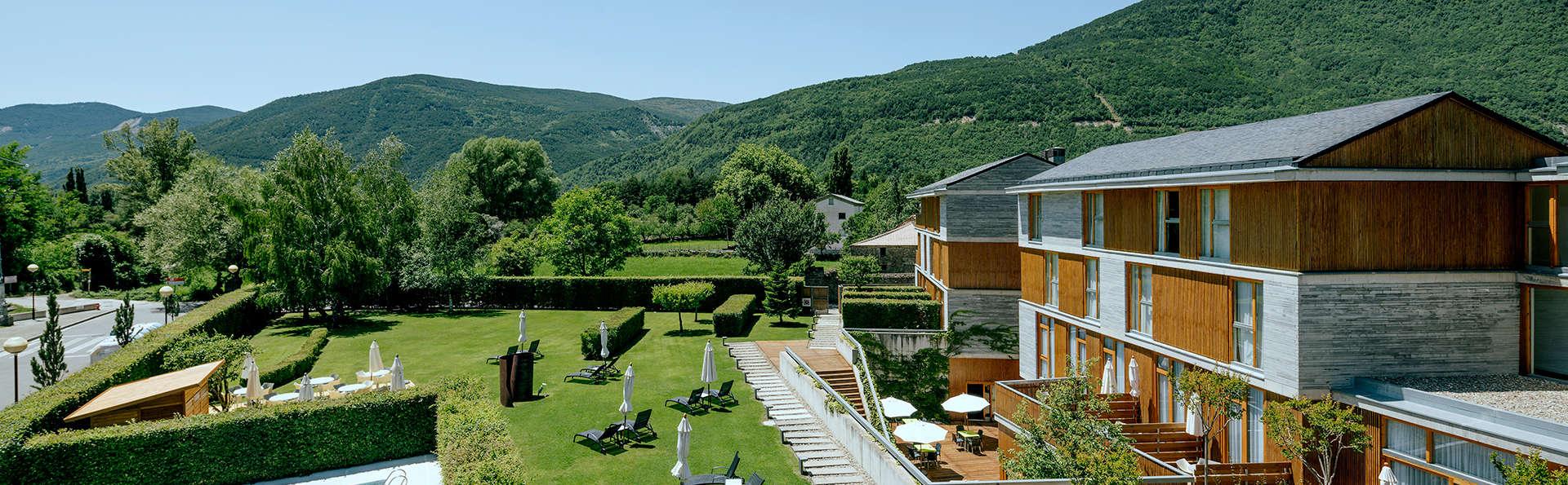 Spectaculaire 4* avec gin tonic et remise au restaurant au parc d'Ordesa et du Mont-Perdu