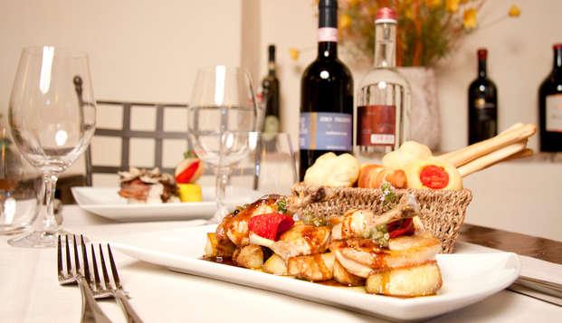 ¡Alójate en una maravillosa villa toscana, con cena!