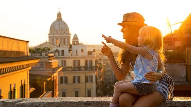 Visite guidée et bus hop-on hop-off à Rome
