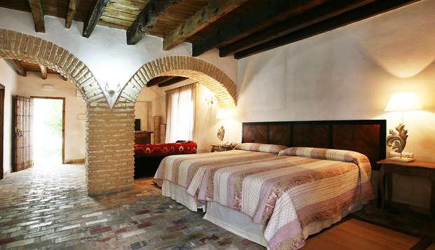 Escapada en suite colonial con cava en pleno centro de Sanlucar de Barrameda