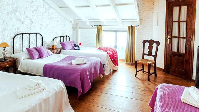 Escapada familiar con desayuno incluido en un pequeño hotel en Suances