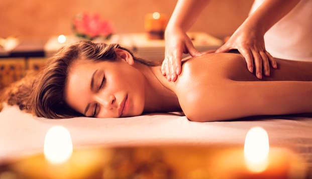 Geniet van een massage voor 2 in je eigen suite