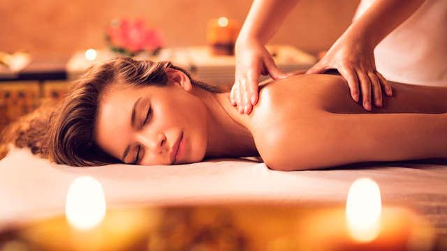 Sauna privada y masaje en pareja en tu propia suite
