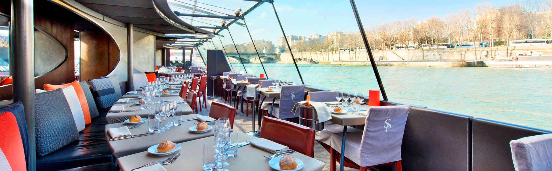 Découverte des plus beaux monuments de Paris avec croisière sur la Seine