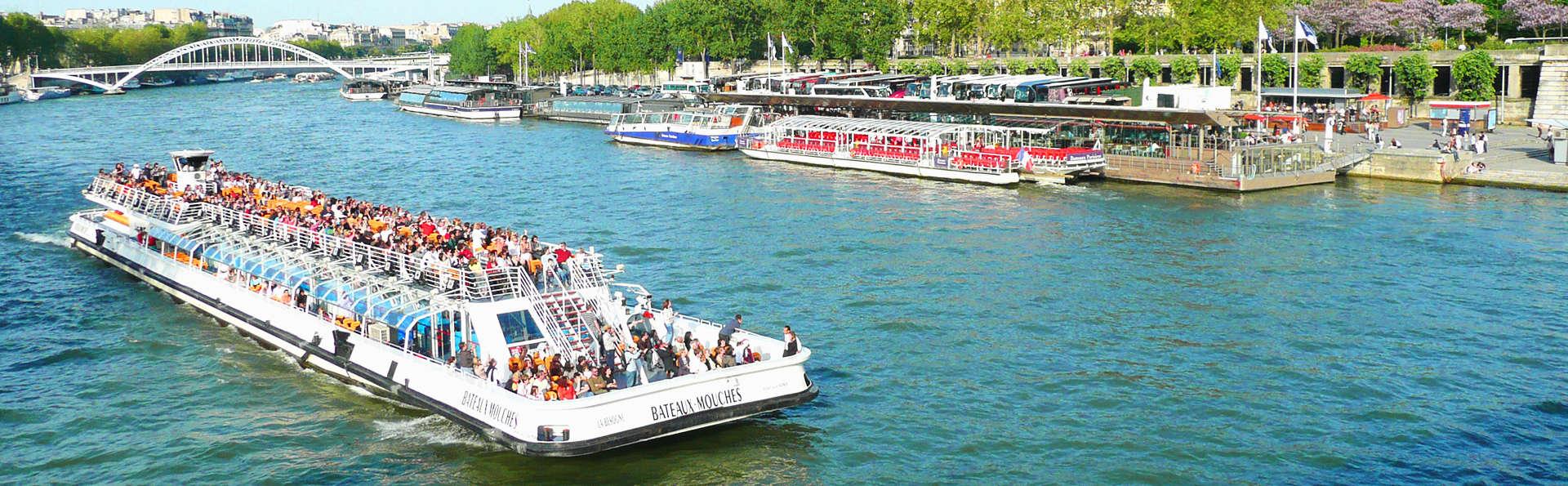 Enchantement et découverte de Paris au fil de l'eau