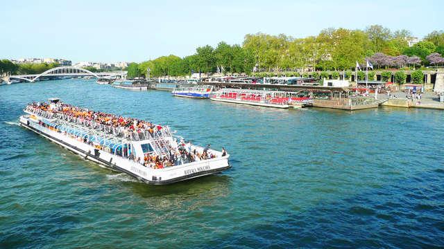 Séjour au cœur de Paris et croisière sur la Seine