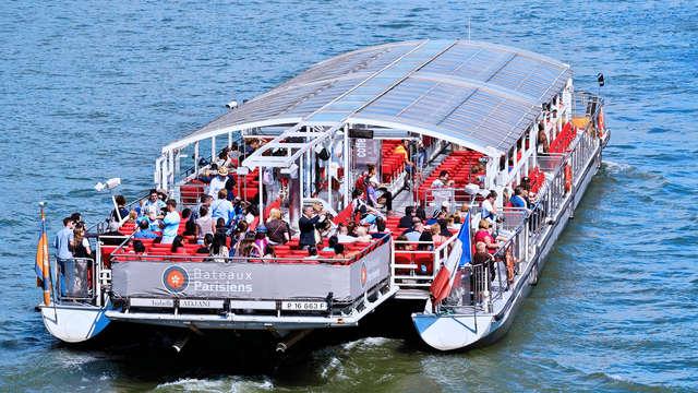 1 Croisière en bateau sur la Seine pour 2 adultes