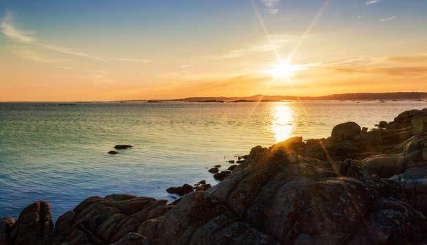 Mini-vacances au centre de Vigo avec croisière dans les îles Cies (à partir de 3 nuits)