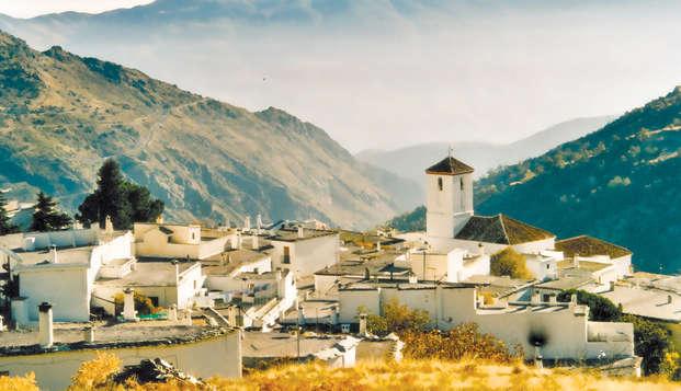 Desconecta de la ciudad y descubre la Alpujarra y su gastronomía (Desde 2 Noches)