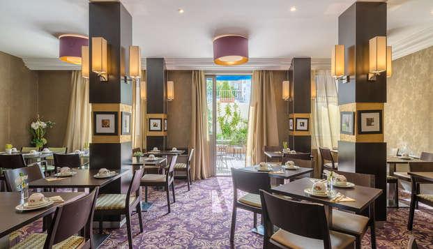 Hotel le Versailles - NEW breakfast