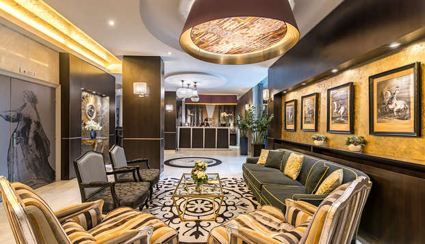 Hotel le Versailles - NEW lobby
