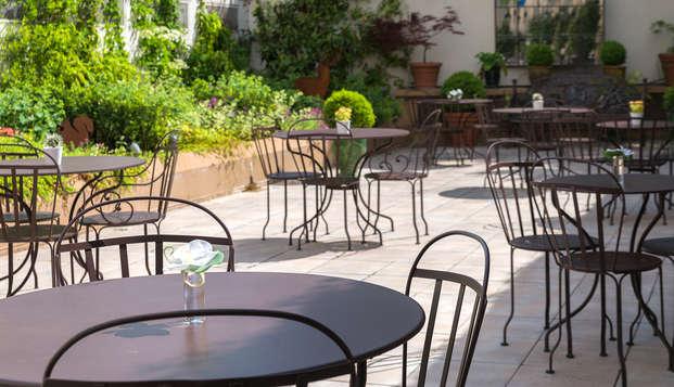 Hotel le Versailles - NEW terrace