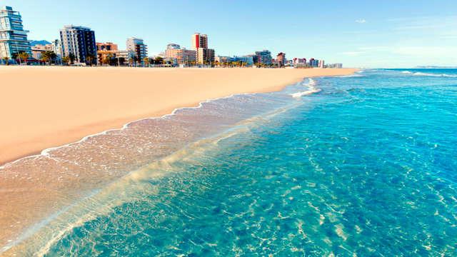 Évasion dans cet hôtel 3* sur la plage, Miramar (Gandia)