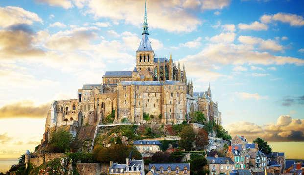 Week-end authentique avec entrée à l'abbaye du Mont-Saint-Michel