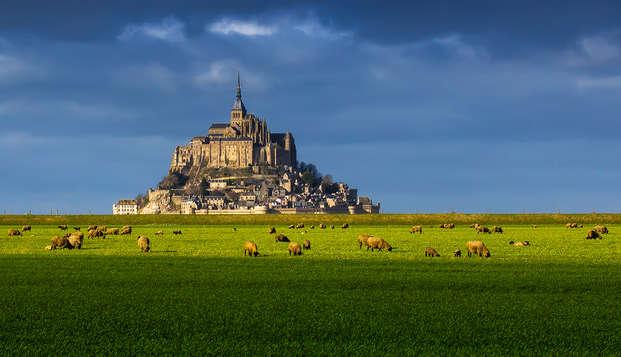 Bienestar con visita a la abadía del Mont-Saint-Michel