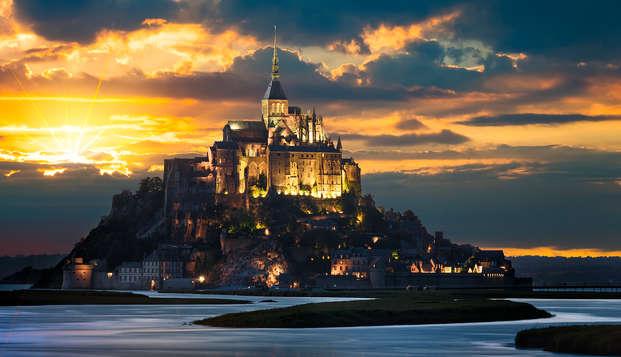 Week-end au coeur de la baie du Mont-Saint-Michel avec entrée à l'abbaye