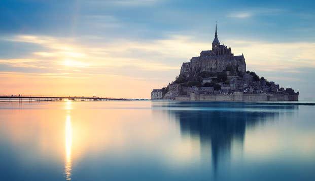 Week-end en chambre privilège près du Mont Saint Michel avec visite de sa célèbre abbaye
