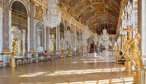 Relaxweekend in een comfort kamer met uitzicht op het bos en toegang tot het Kasteel van Versailles (toegangspas voor 2 dagen)