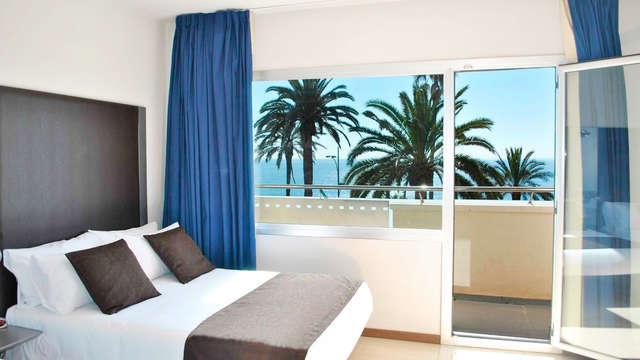 Escapada relax con habitación con vistas al mar garantizadas