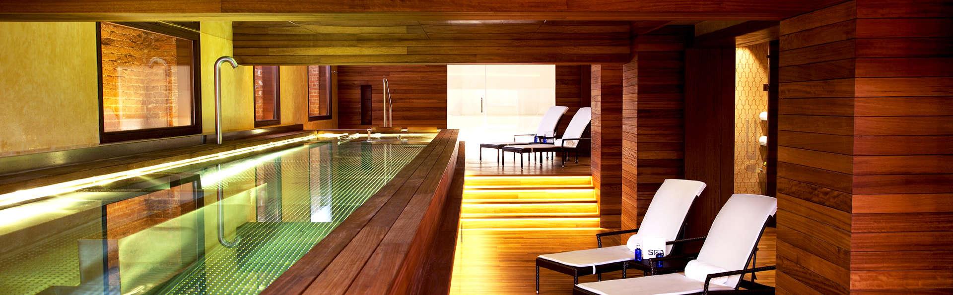 Lujazo en Madrid: hotel céntrico de diseño con desayunos y acceso al spa incluido