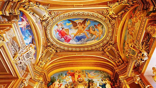 Entre bastidores en la Ópera Garnier de París