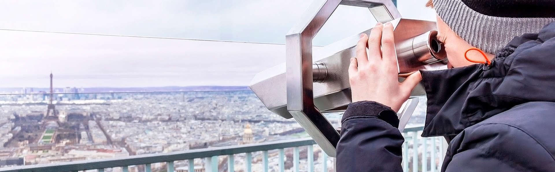 Week-end au coeur de Paris avec entrée pour la vue panoramique de la tour Montparnasse