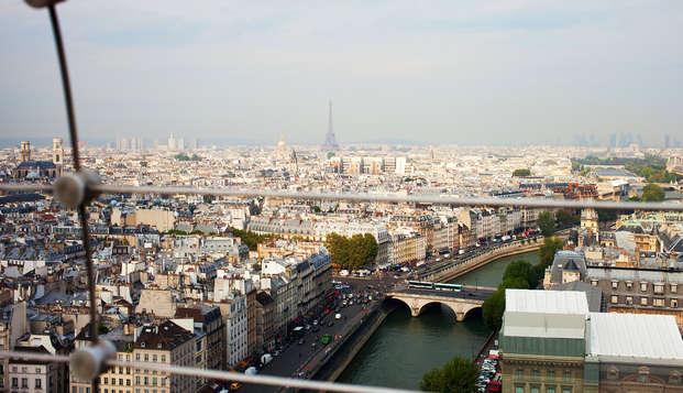 Montez sur le plus haut toit de Paris ! Week-end avec entrée à la Tour Montparnasse