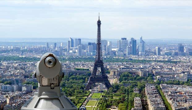Week-end design 4* au cœur de Paris avec visite de la Tour Montparnasse