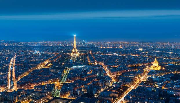Admirez Paris lors d'une visite de la tour Montparnasse