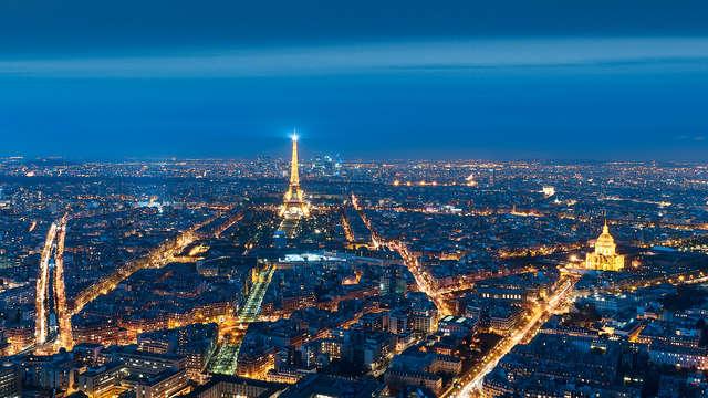 Contempla París desde la torre Montparnasse