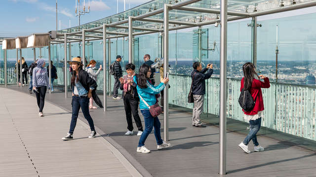 Montez sur le plus haut toit de Paris lors d'un séjour 3*