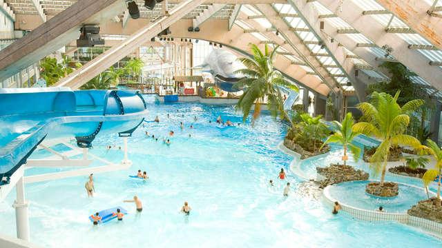 Détente à Meudon et entrée au Parc aquatique d'Aquaboulevard