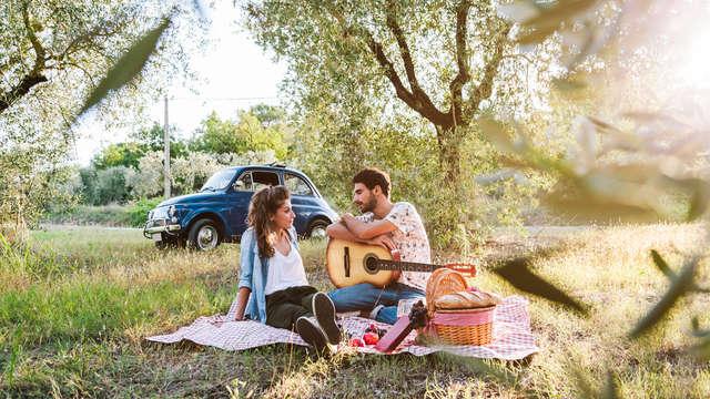 Relax en pareja con sesión de jacuzzi privado en la Molina