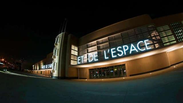 Entrada al Museo del Aire y del Espacio