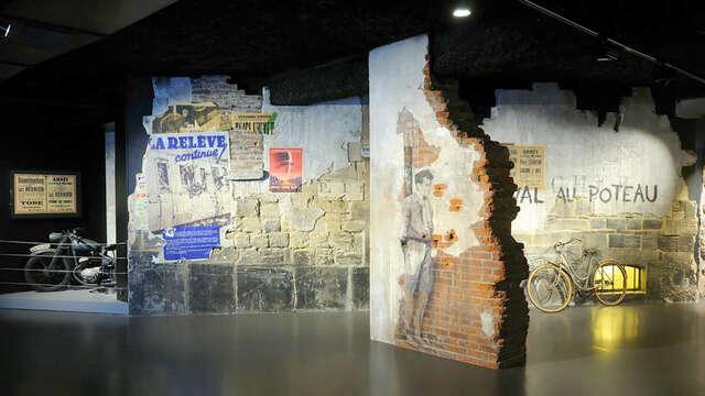 Eropuit dicht bij de invasiestranden met kaartjes voor de Mémorial de Caen