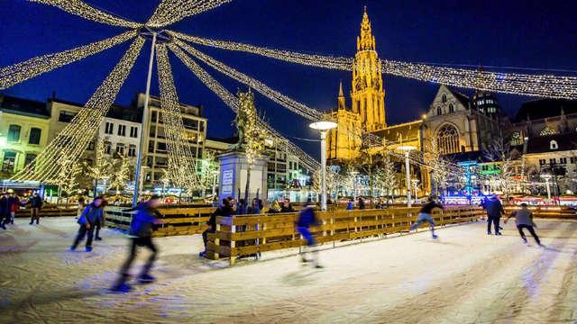 Sfeervolle kersttijd en luxe in het betoverende Antwerpen
