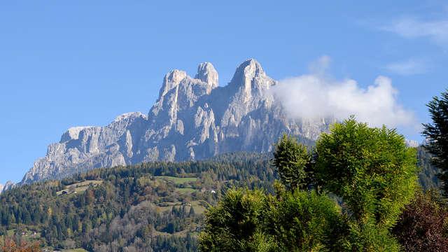 Calme et tranquillité entre les Alpes et Trente