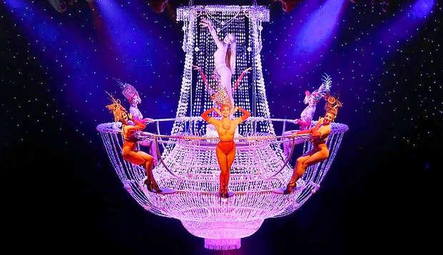 Celebra las fiestas en Paris con entradas para un espectáculo de cabaret en el Lido