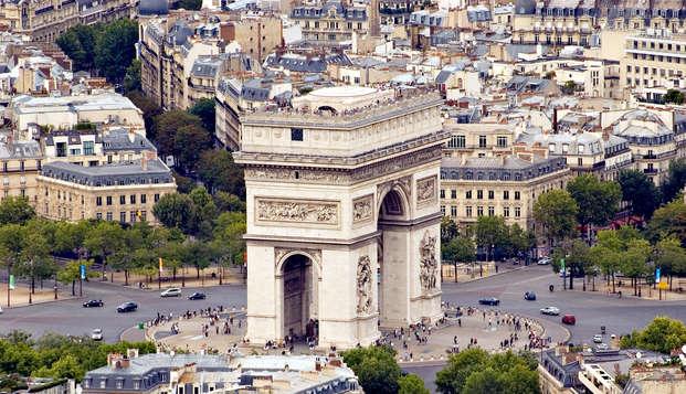 En París en un encantador hotel en el 17.º distrito  con visita al Arco del Triunfo