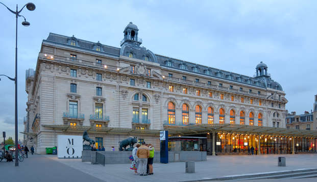 Entrada al Museo de la Orangerie y al Museo de Orsay con alojamiento de 4* en París