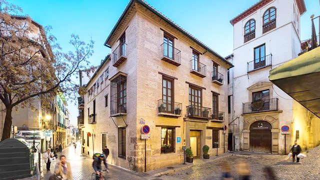 Escapada romántica en el centro de Granada